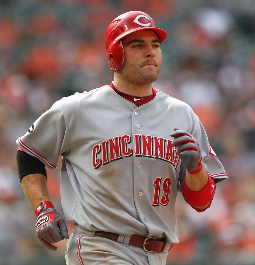 Cincinnati Reds first baseman <a rel=